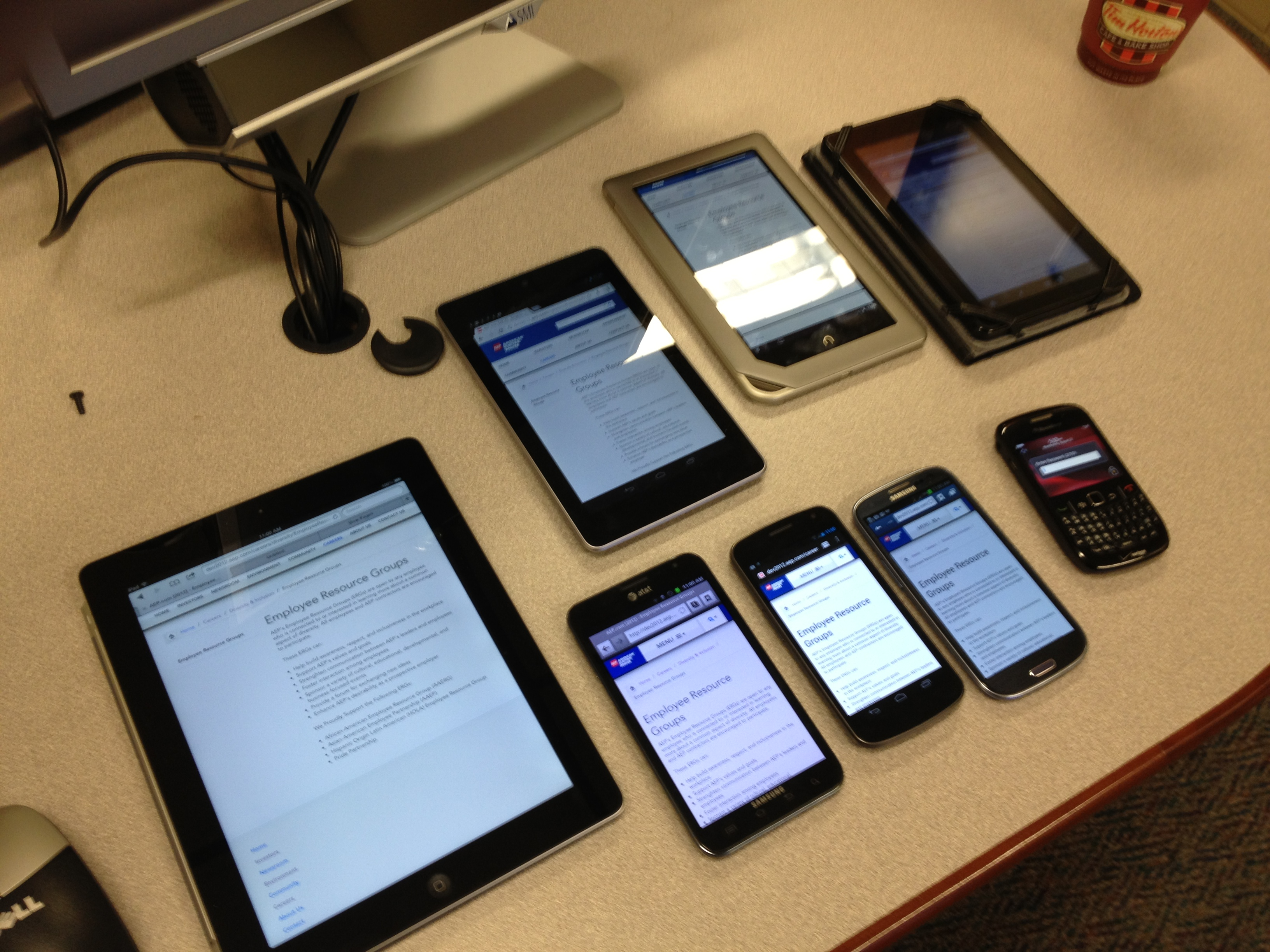 Getting Ready for Usability Testing a Responsive Site – Eric